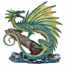 "Andrew Bill ""Aqua"" Dragon Figurine Limited Edition Retired."