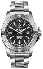 NEW BREITLING COLT 44 AUTOMATIC BLACK DIAL MEN'S WATCH A1738811/BD44