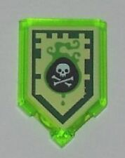 Lego Nexo Knights Power Shield Venom Bite Pentagonal Plate  2 x 3 Part