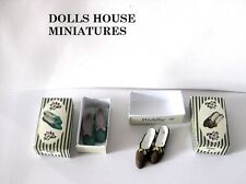LADIES  SHOES  DOLLS HOUSE MINIATURES