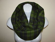 sale navy olive infinity scarf flannel scarf man woman fall winter scarf