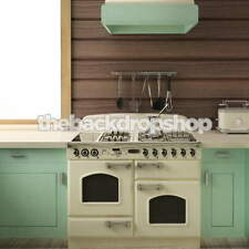 Retro Kitchen Photography Backdrop - Item 1645 - 5ft x 5ft Vinyl