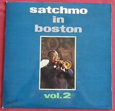 LOUIS AMSTRONG   LP ORIG FR SATCHMO IN BOSTON  VOL.2