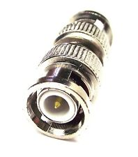 From OZ Quality 1PC BNC Male to BNC Male TV Aerial Coaxial Adaptor Connector +FP