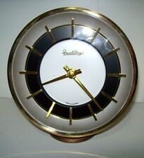 Vintage Dunklings 28 day Windup Pedestal Mantle Clock Made In Germany