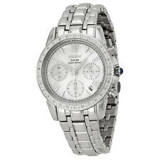 Seiko Le Grand Chronograph Mother of Pearl Dial Stainless Steel Ladies Watch