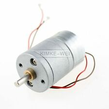 6V DC 15RPM High Torque Electric Gear Box Motor
