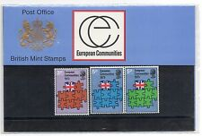 GB 1973 European Communities Presentation Pack VGC. Stamps.