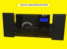 Design-Stereoanlage/CD/MP3/UKW-MW- Radio/mit iPod Dockingstation/USB/SD/MMC/Neu