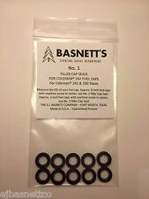 Basnett's #1 Fuel Cap Gaskets fit Coleman Lanterns Stoves 242 243 500