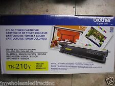GENUINE Brother TN210Y TN210 Yellow Toner MFC-9120CN HL-3070CW HL3040CN HL3045CN