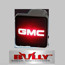 "GMC HITCH COVER 2"" inch RECEIVER box plug trailer 3RD BRAKE tail LIGHT draw bar"