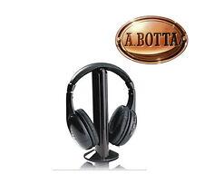 Cuffia TV Senza Fili Wireless 5 in 1 AKAI CW04 MONO Microfono Radio Baby Monitor