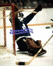 WHOA! Doug FAVELL LEANS Back for a Toronto MAPLE Leafs SAVE 8X10 NEW!