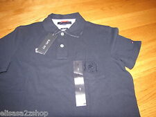 Men's Tommy Hilfiger Polo shirt NWT XL Slim Fit NEW 7827263 Masters Navy 410