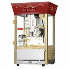 Great Northern POPCORN MACHINE, Matinee Movie Theater Style POPCORN MAKER, Red