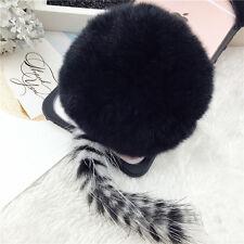 3D Fur Ball Cat Ears Clear TPU Case Phone Cover iPhone 7 plus Cute Girls black