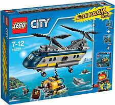 LEGO ® City 66522 Deep Sea Explorers SUPER PACK 4-in-1 NUOVO OVP NEW MISB NRFB