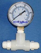 Reverse Osmosis Pressure Gauge Kit