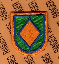 US Army 118th Military Police Company beret flash patch m/e