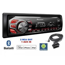 Pioneer MVH-X370BT autoradio porta USB bluetooth controlli Iphone e Android