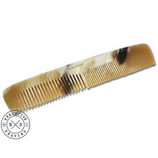 LARGE Real Horn 6.5 Inch Coarse/Fine Hair Comb (73255)