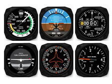 6 Piece Aircraft Six-Pack Instruments - Coaster Set by Trintec - 9085