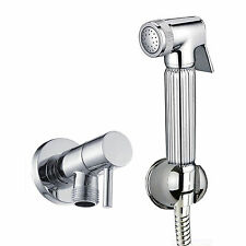 ENKI Handheld Brass Toilet Bathroom Bidet Doushe Shower Head Spray Nozzle Set