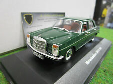 MERCEDES BENZ 200D vert 1968 o 1/43 SOLIDO S4300600 voiture miniature collection