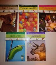 5 A CHILD'S FIRST LIBRARY OF LEARNING BOOKS by TIME LIFE BOOKS    5HARDBACKS