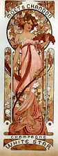 Art Nouveau ' Moet & Chandon White..' by Alphonse Mucha