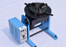 110V 30KG Welding Positioner Turntable Timing Function, With 300mm Chuck