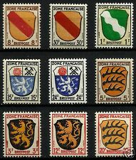 FRENCH OCCUPATION ZONE IN GERMANY, MINT NEVER HINGED, VERY NICE SET, GOOD SET!!!