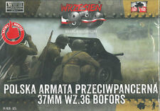 First to Fight 025 Polish anti-tank cannon 37 mm wz.36 Bofors 1/72