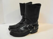 DOUBLE H MENS SZ 10 D HARNESS Boots Square Toe  MOTORCYCLE/ENGINEER USA W