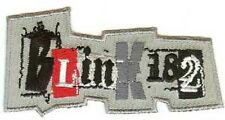 NEW Official Merch Woven Iron-on/ Sew-on Patch Punk Rock BLINK 182 Logo Emblem