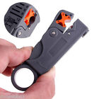 Hot On Sale Grey Wire Stripper Cutter cable stripping hand tool Double Blades