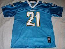LaDainian Tomlinson 21 San Diego Chargers Blue Team Reebok Jersey Youth XL used