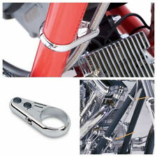 Custom Frame Clutch Brake Handlebar Cable Clamp for Harley Chopper Cruiser Cafe