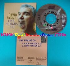 CD Singolo David Byrne Like Humans Do VUSCDJ202 PROMO EUROPE 01 CARDSLEEVE(S25)