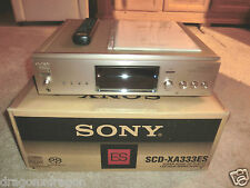 Sony SCD-XA333ES High-End SACD-Player, in OVP, wie NEU, 2 Jahre Garantie