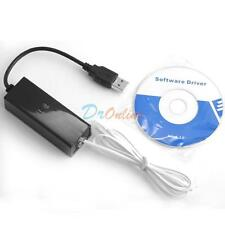 USB 2.0 56K Data V.92/V.90 Telephone Fax Modem Cable Windows XP Win8,Win7