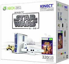 Xbox 360 Game Console Limited Edition Kinect Star Wars Bundle! Free Shipping!