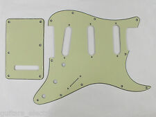 SCRATCH PLATE Pickguard Set SSS to fit USA/Mex STRATOCASTER Strats in 17 Colours
