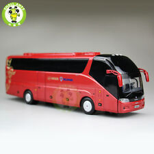 1:43 Scania A90 Bus Coach Models Gold Dragon Higer Bus China Bus Model