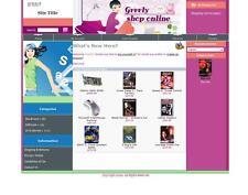 Established ECOMMERCE FASHION CLOTHING SHOPPING STYLE website for sale
