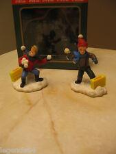 COCA COLA TOWN SQUARE ACCESSORY BOYS ARE BOYS THE SNOWBALL FIGHT #64333 NIB 1995