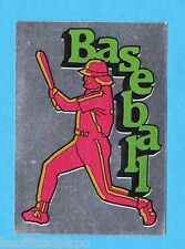 SUPERSPORT 1986-PANINI 86-Figurina - BASEBALL - ADESIVO FUORI RACCOLTA -NEW