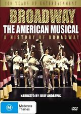 Broadway - The American Musical (DVD, 2005, 2-Disc Set), Region-4, Like new