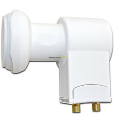 Universal Twin LNB 0,1 db HDTV digital FULL HD 3D-tauglich